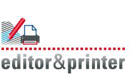 Abbildung editor&printer